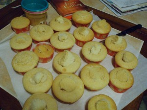 cupcakes with filling